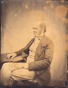 Portrait of Charles Darwin, 1860. (MSS 3314. Paul Victorius Evolution Collection. Image by U.Va. Library Digitization Services)