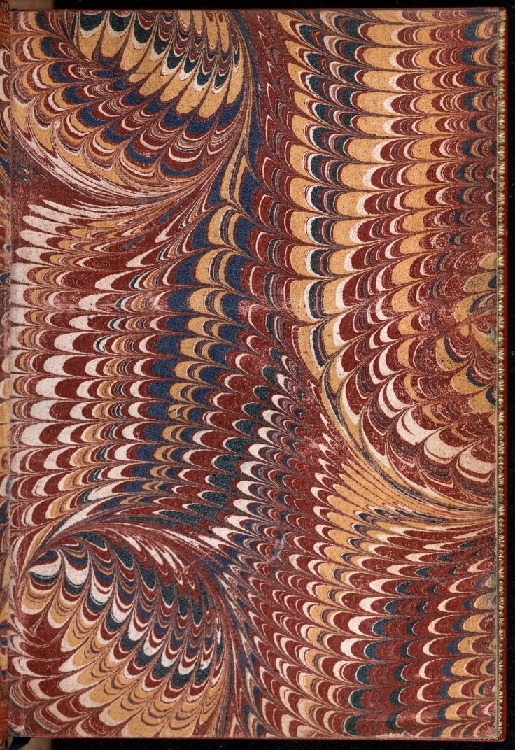 Front Free Endpaper page 1 from La Metamorphose d'Ouide figuree · Ovid, 43 B.C.-17 or 18 A.D. · 1557