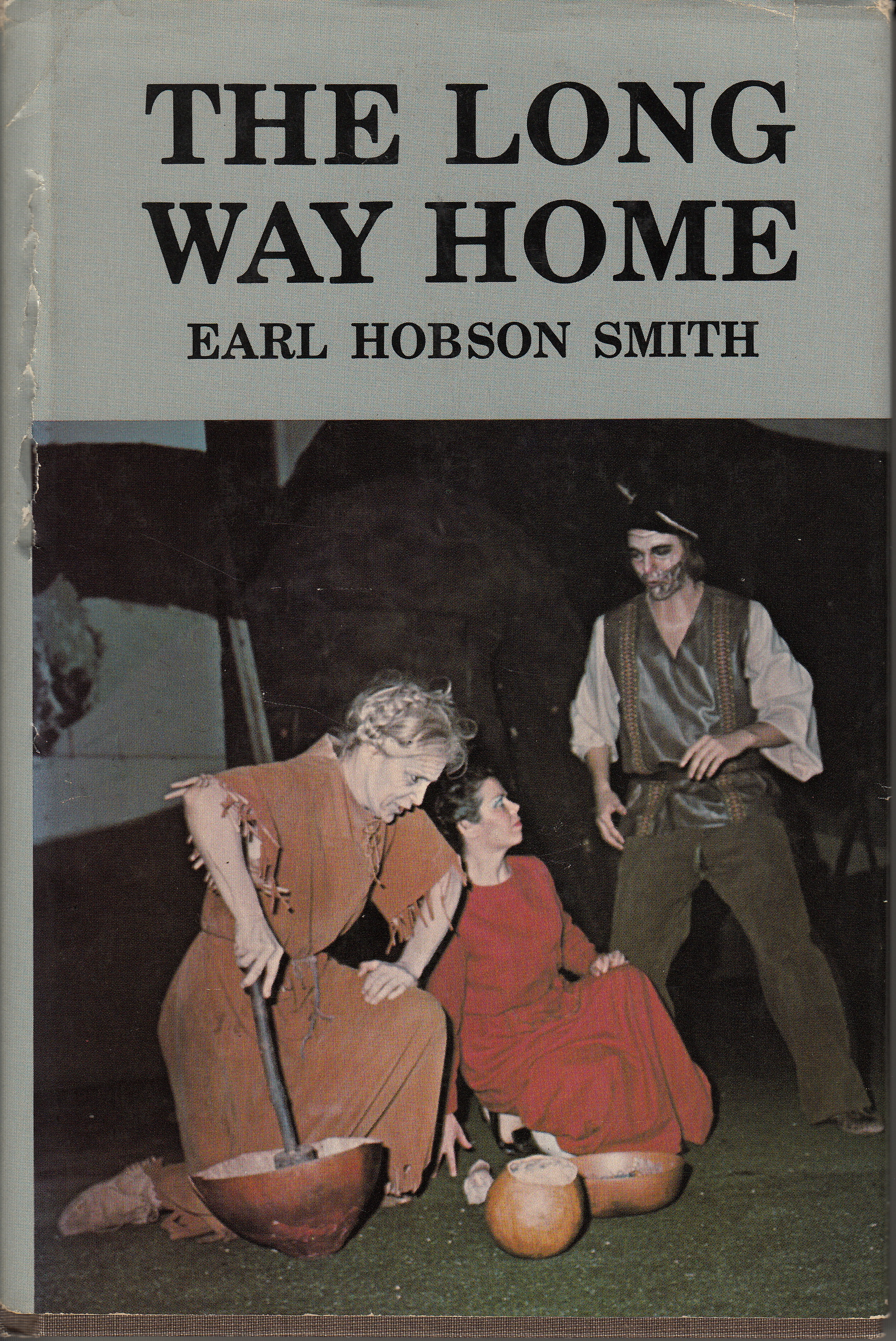 Cover of The Long Way Home by Earl Hobson Smith (1976).  The Long Way Home was an outdoor historical drama adaptation of the story of Mary Draper Ingles' capture by and escape from the Shawnee Indians. (PS 3537 .M346 L56 1976. Robert and Virginia Tunstall Trust Fund 2006/2007. Image by Petrina Jackson)