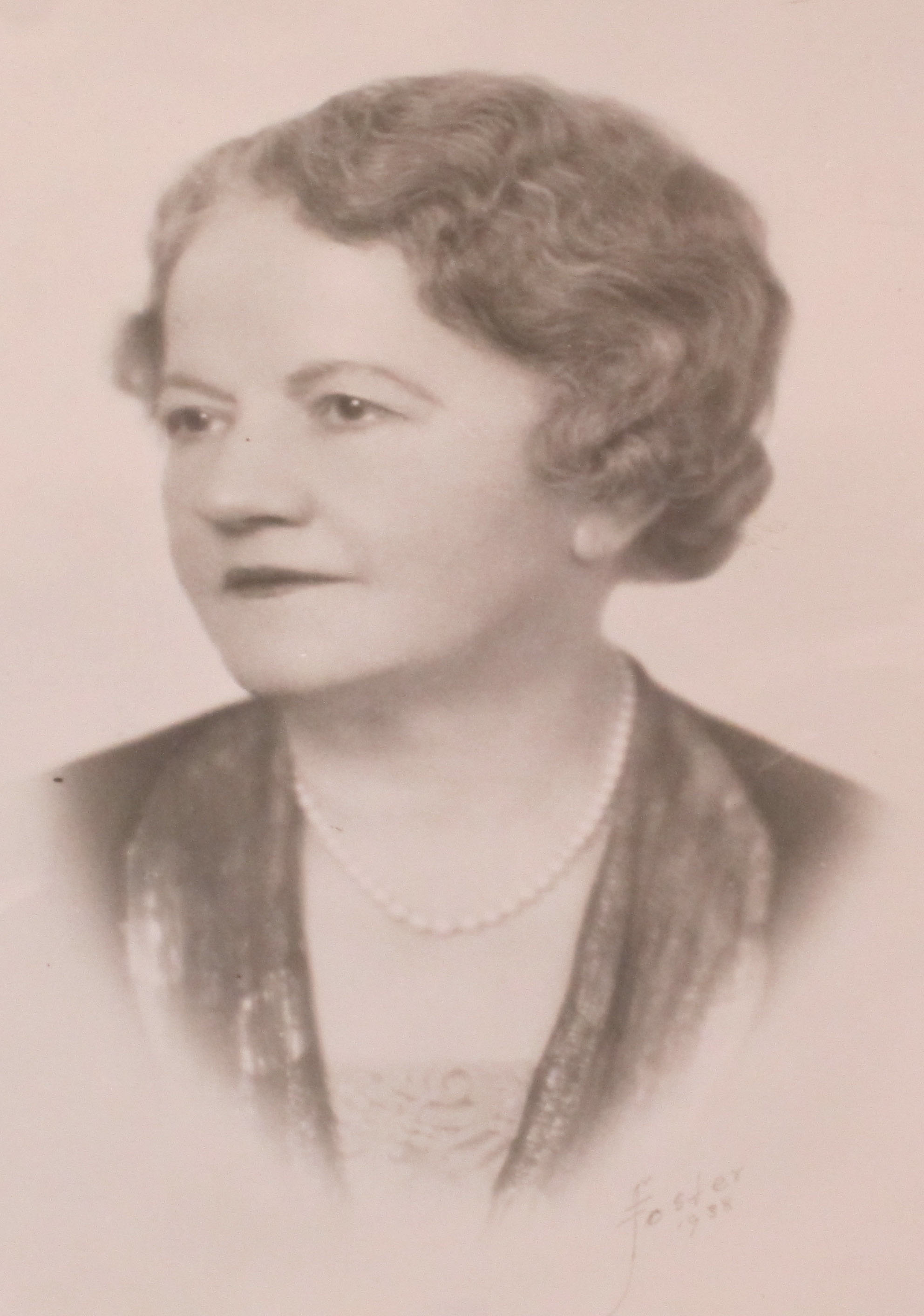 Photograph of Ellen Glasgow (1938) taken by from her book The Woman Within (MSS 5060. Photograph by Petrina Jackson)