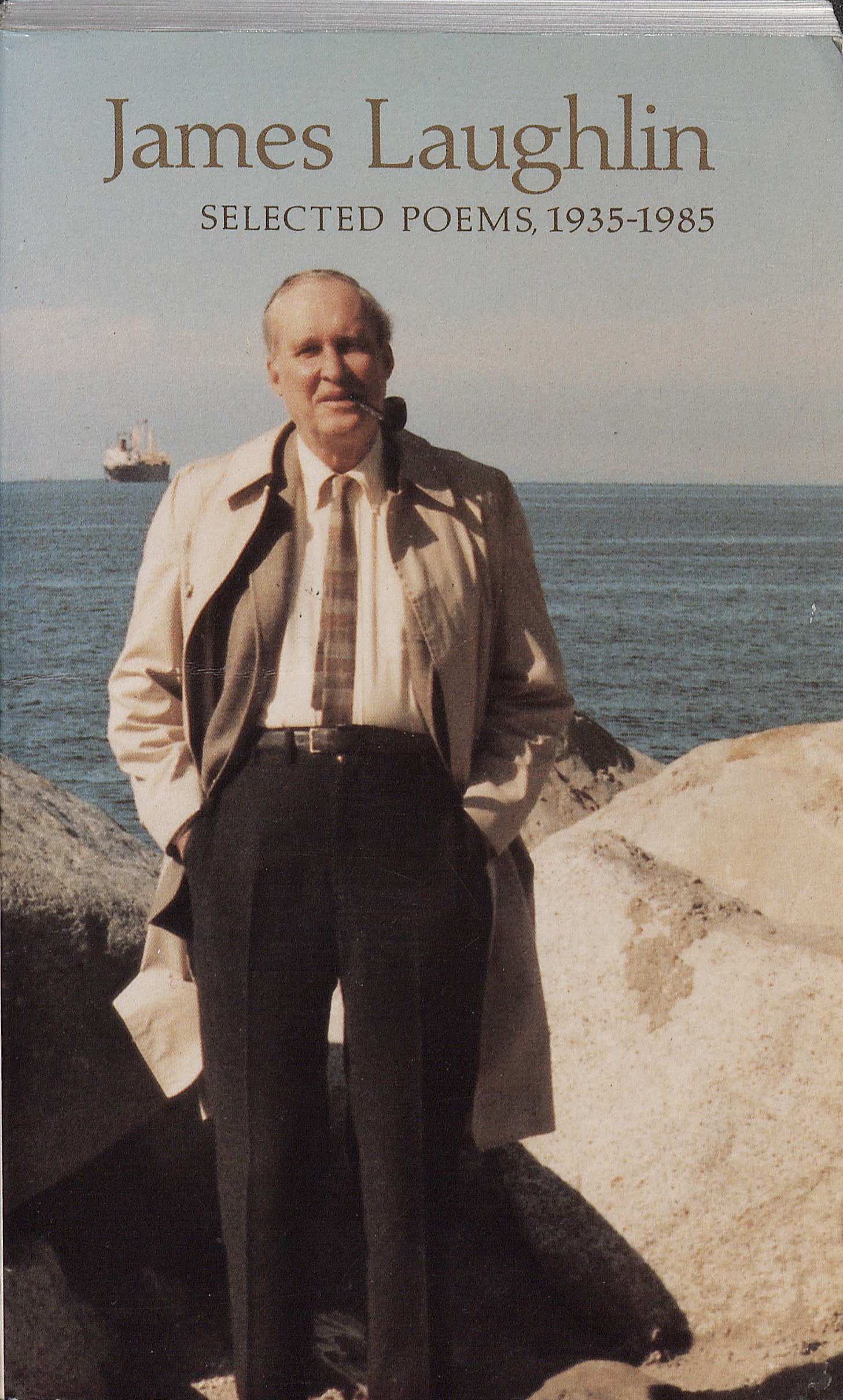 James Laughlin Selected Poems, 1935–1985.' City Light Books, 1986. (PS3523. A8245A6 1986. Marvin Tatum Collection of Contemporary Literature. Image by Caroline Newcomb)