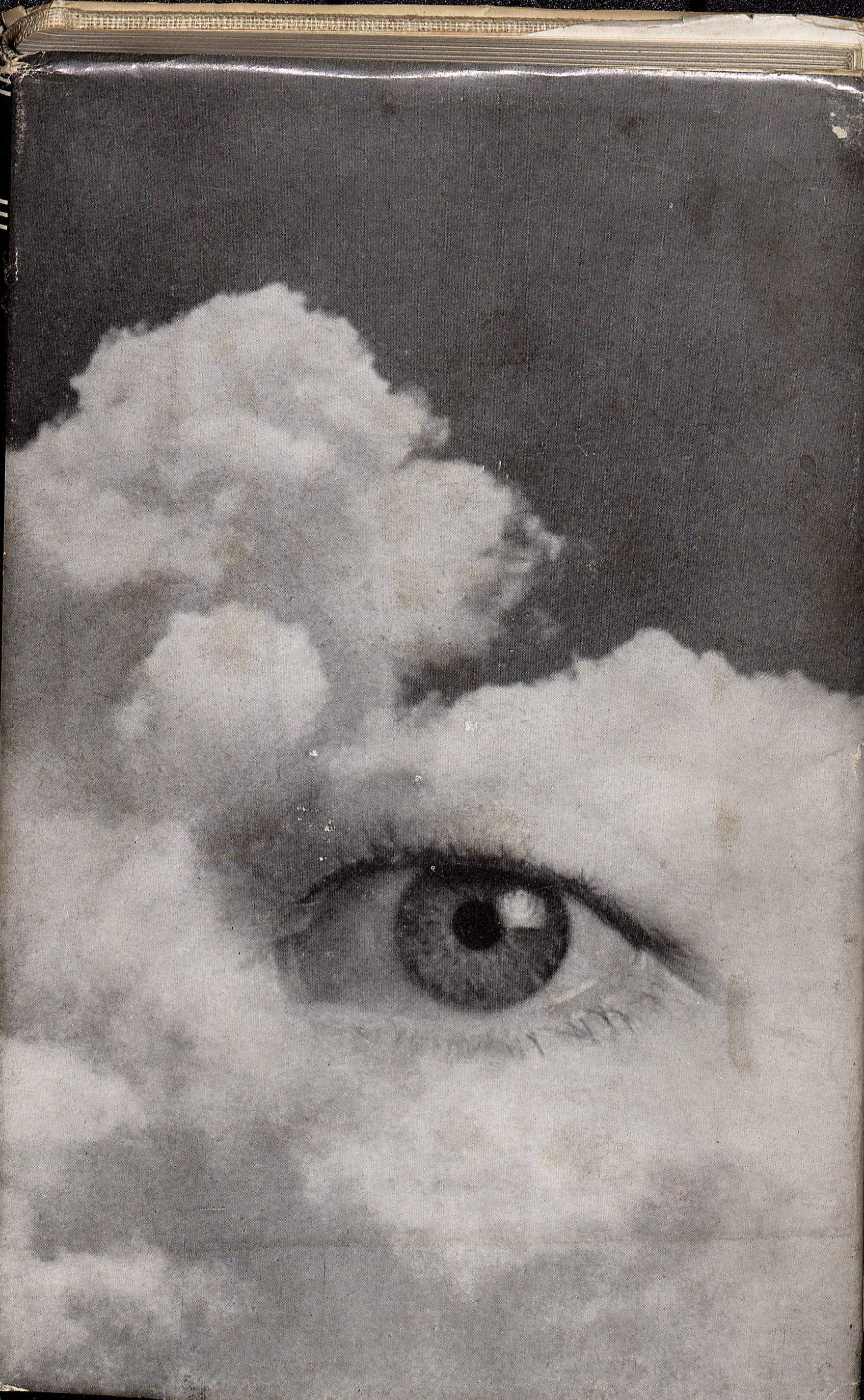 Henry Miller's The Cosmological Eye. New Directions, 1939. The eye in the cloud is James Laughlin's left eye. (PS3525 I5454 C6. Clifton Waller Barrett Library of American Literature. Image by Caroline Newcomb)