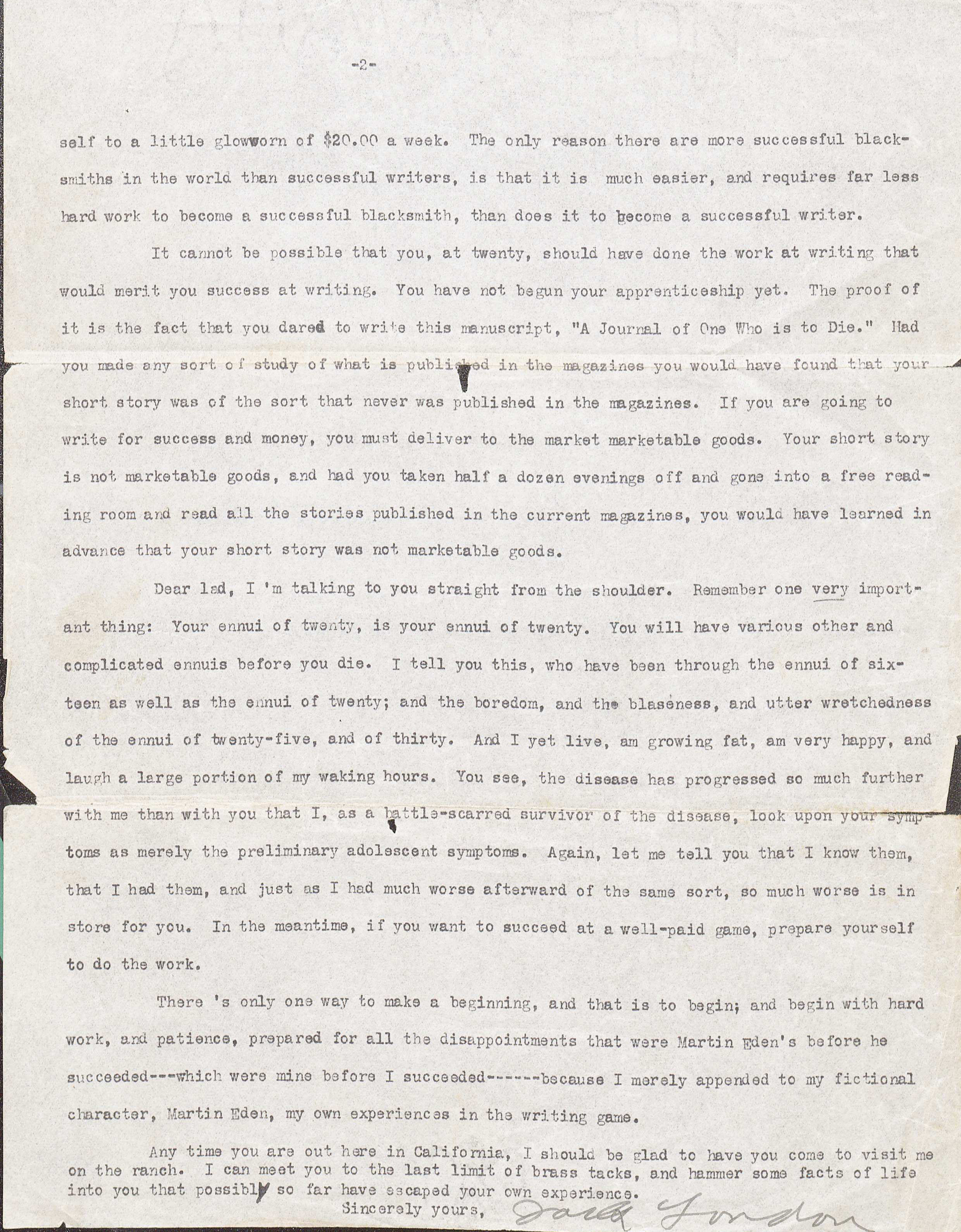(MSS 6240. Clifton Waller Barrett Library of American Literature. Image by Caroline Newcomb)