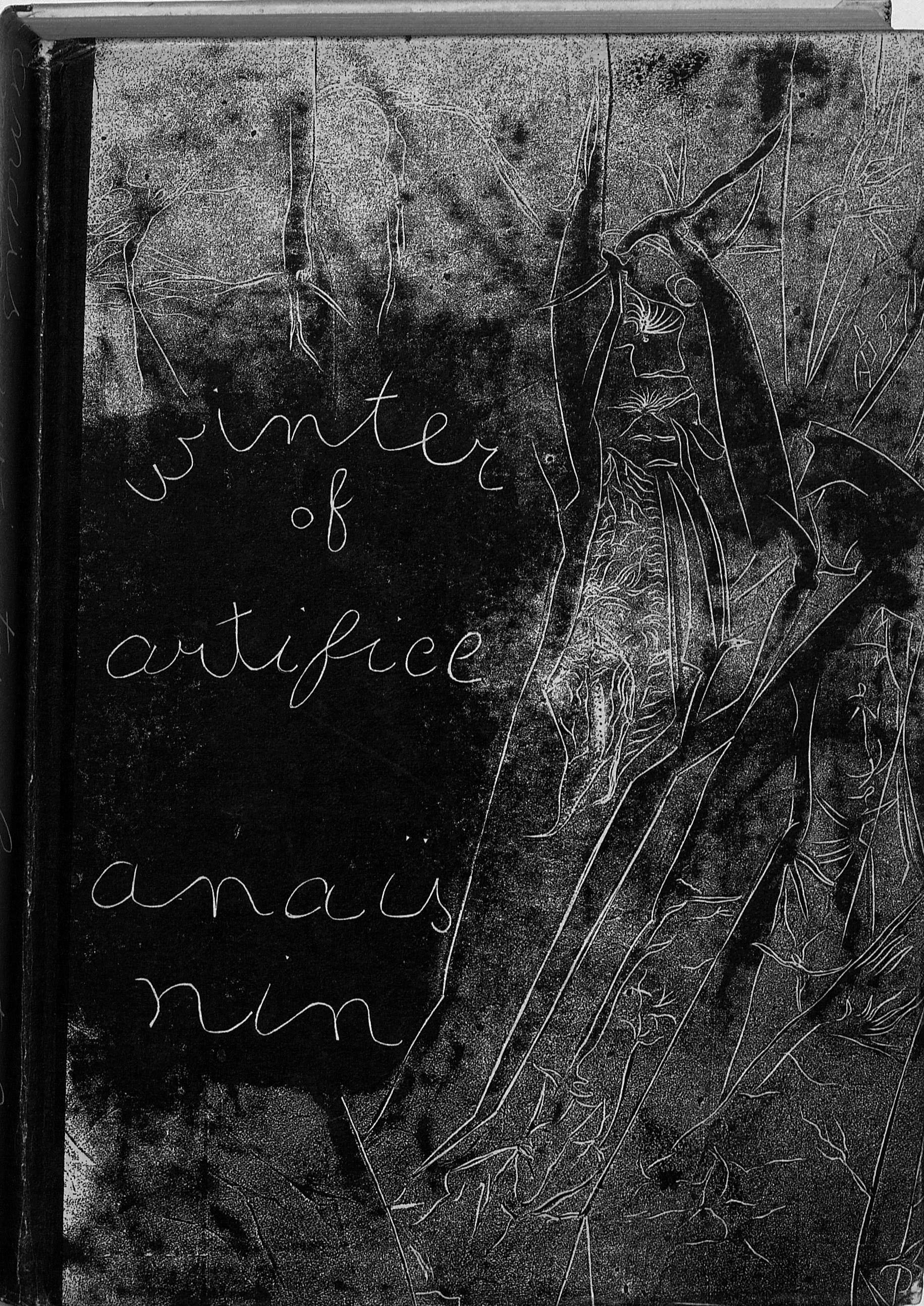 Nin's self-published Winter of Artifice (PS3527 .I865W5 1942. Clifton Waller Barrett Library of American Literature. Image by Anne Causey)