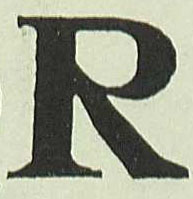 """R"" Day, Lewis F. Alphabets Old and New. 3rd Ed. New York: Charles Scribner's Sons, 1920."