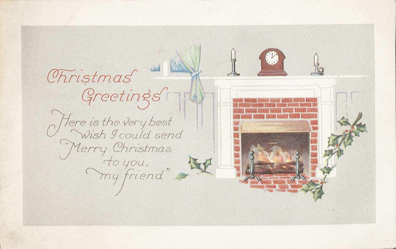 Christmas postcard (Image by Petrina Jackson)