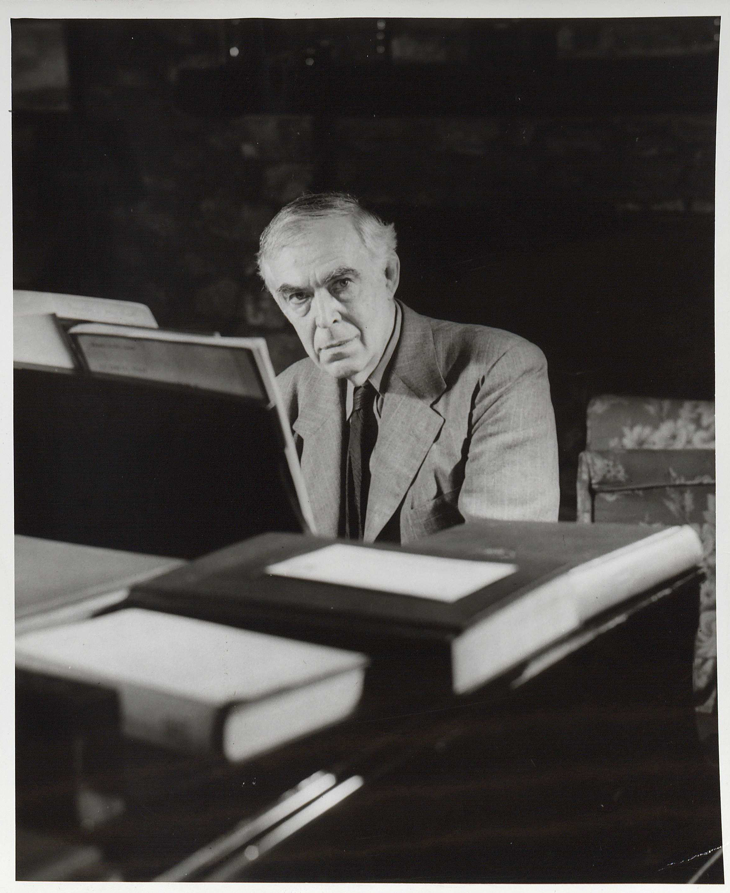 Portrait of John Powell, undated. (Image by Caroline Newcomb)