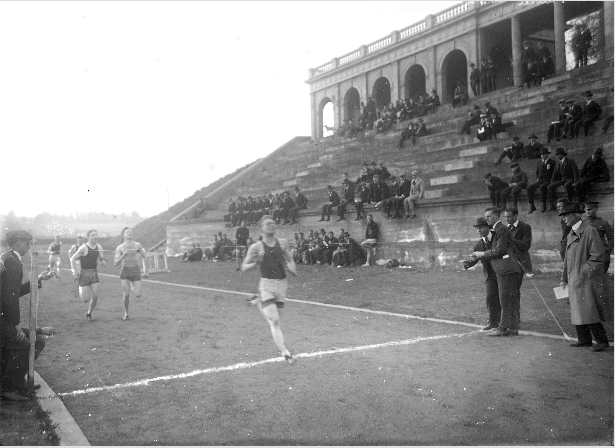 U.Va. Track Meet, 1917 (MSS 9862. Holsinger Studio Collection. Image by Digital Curation Services)