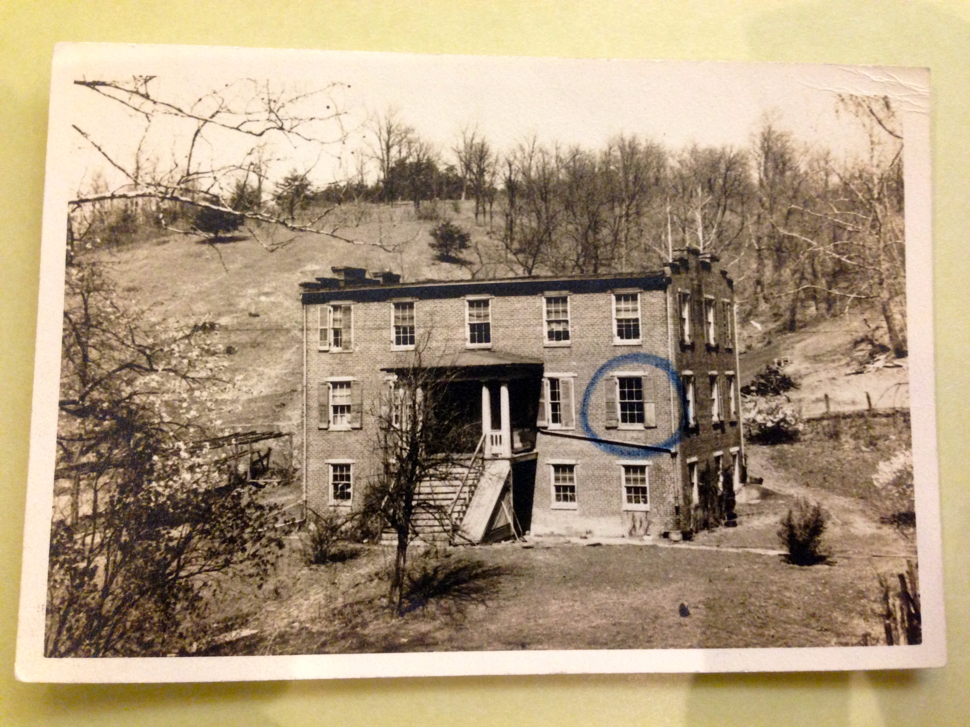 Cather's childhood home in Willow Shade, VA, n.d. (MSS 6494. Photograph by Emily Caldwell.)