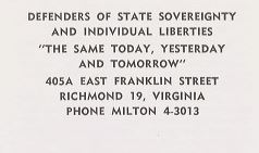 Detail from the closing page of an anti-integration pamphlet also used by Professor Epps-Robertson in her research (Broadside 747. Image by U.Va. Libraries Digitization Services)