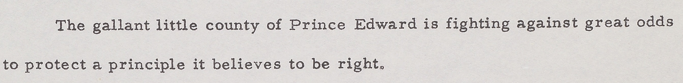 Detail of Byrd's press release.