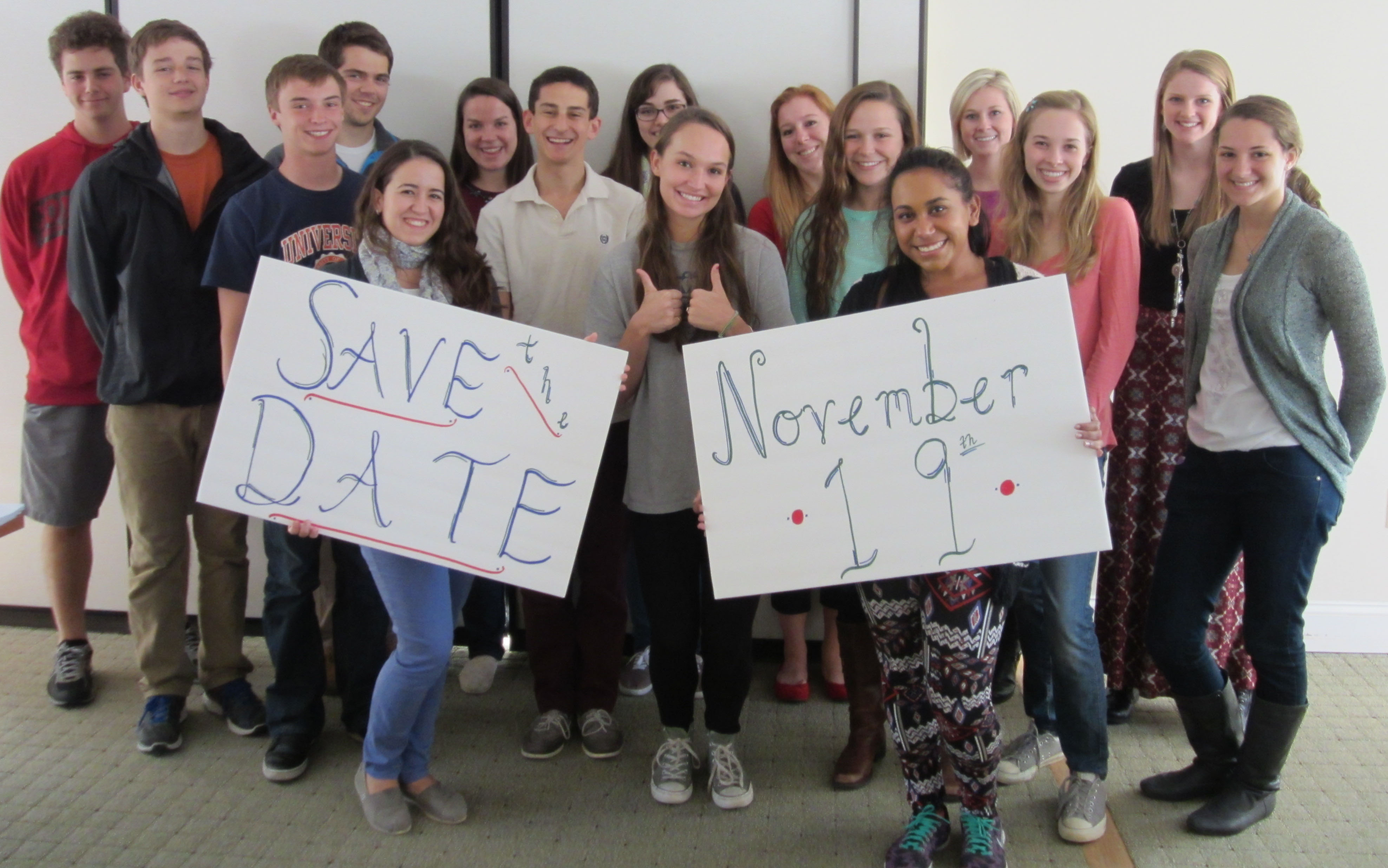 """Save the Date,"" Fall 2014. (Photograph by Caroline Newcomb)"