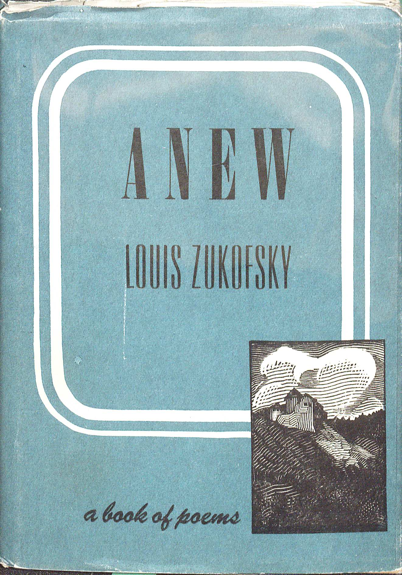 1946 copy of ANEW (PS3549 .U47A8 1946. Gift of Marvin Tatum. Image by Petrina Jackson.)