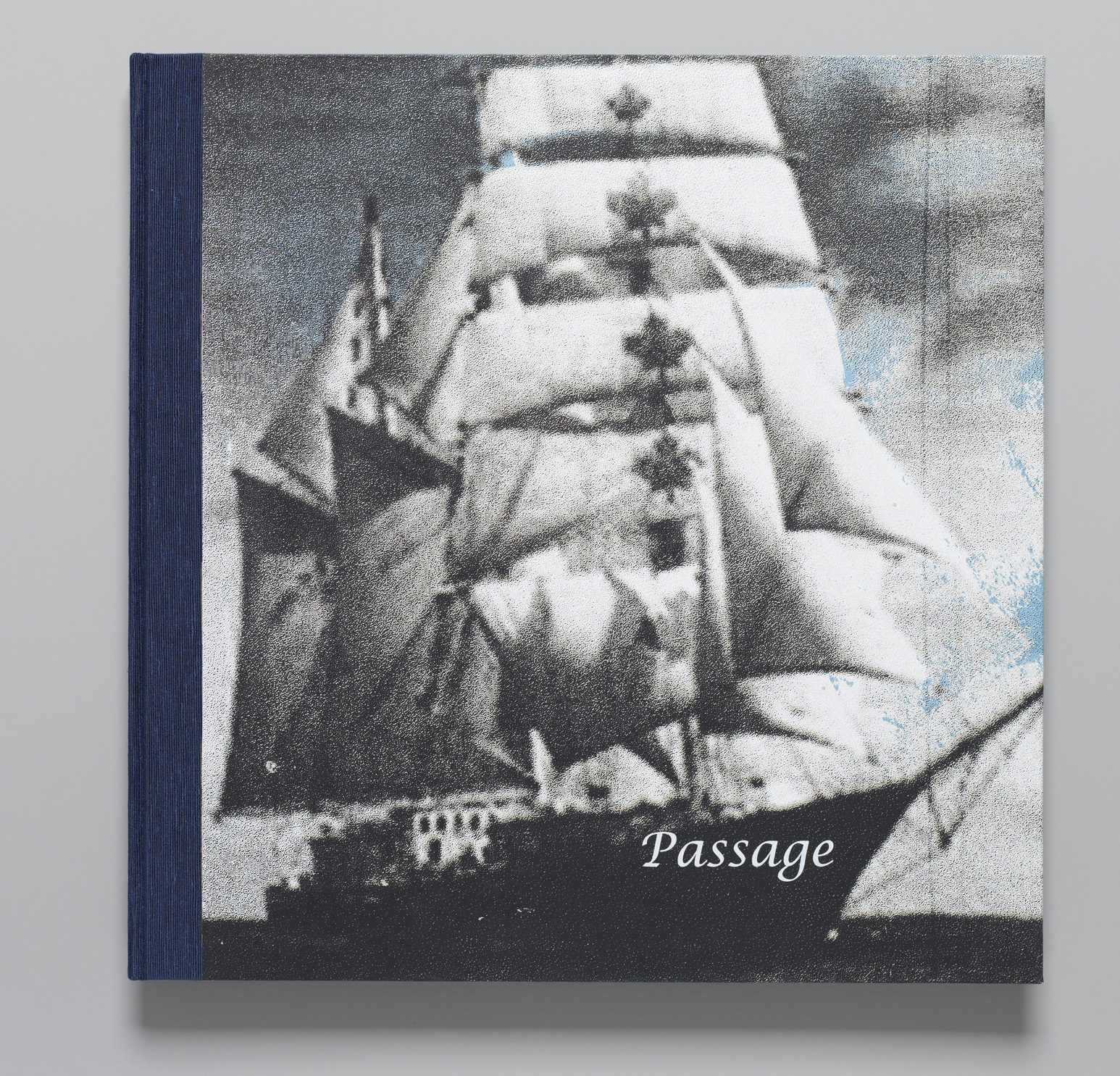 The front cover of Passage. Image courtesy of the artist.