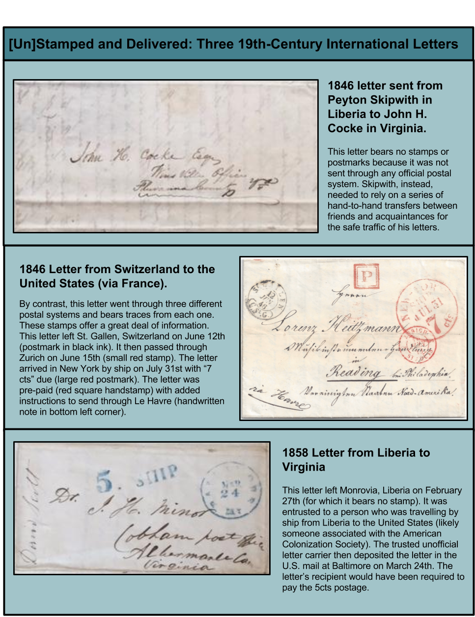 top letter from peyton skipwith to john hartwell cocke june 25 1846 john hartwell cocke papers 1725 1949 mss 640 etc box 117