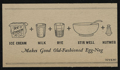 Real Egg-Nog From Ice Cream recipe