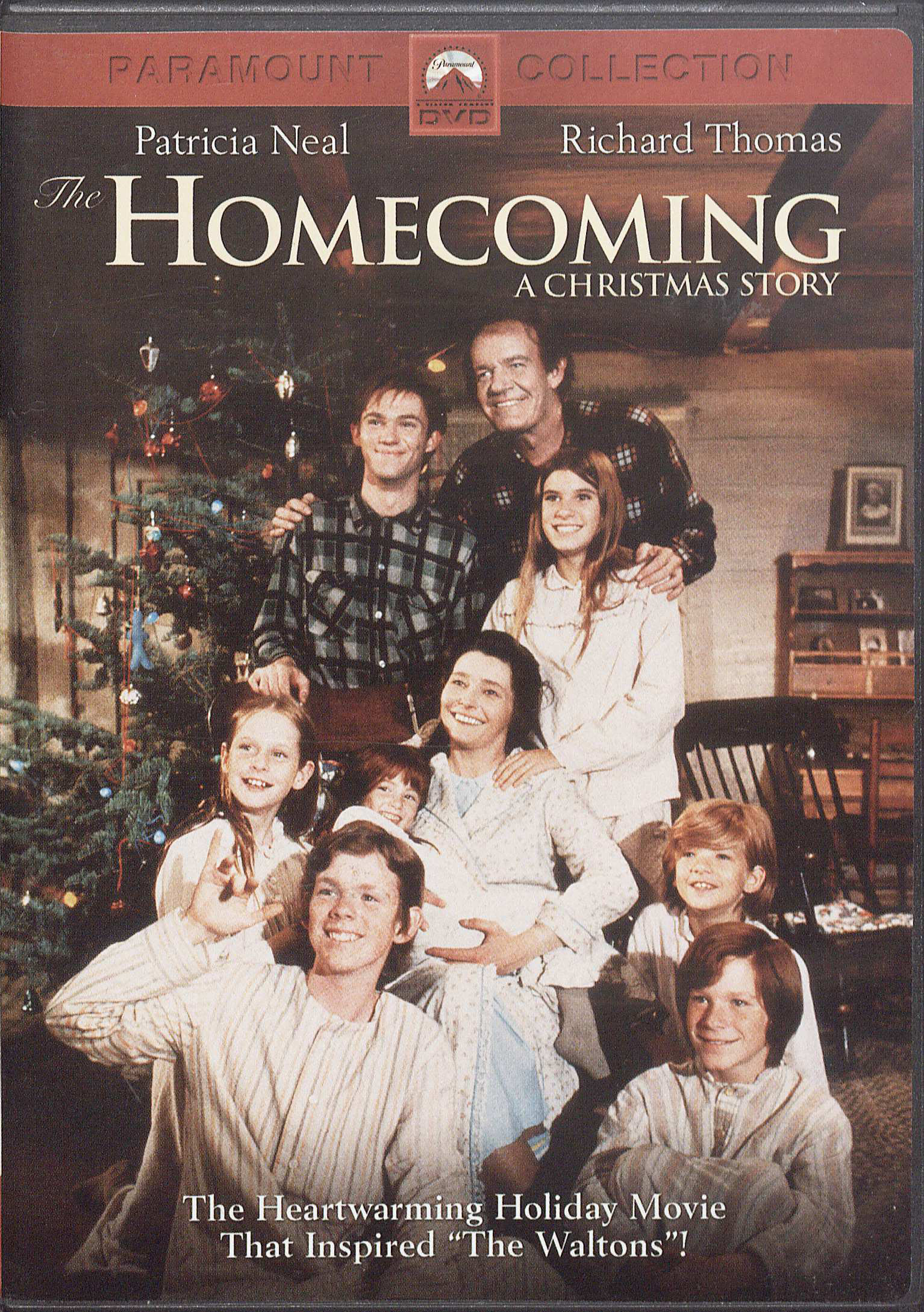 "DVD of the movie ""The Homecoming: A Christmas Story,"""