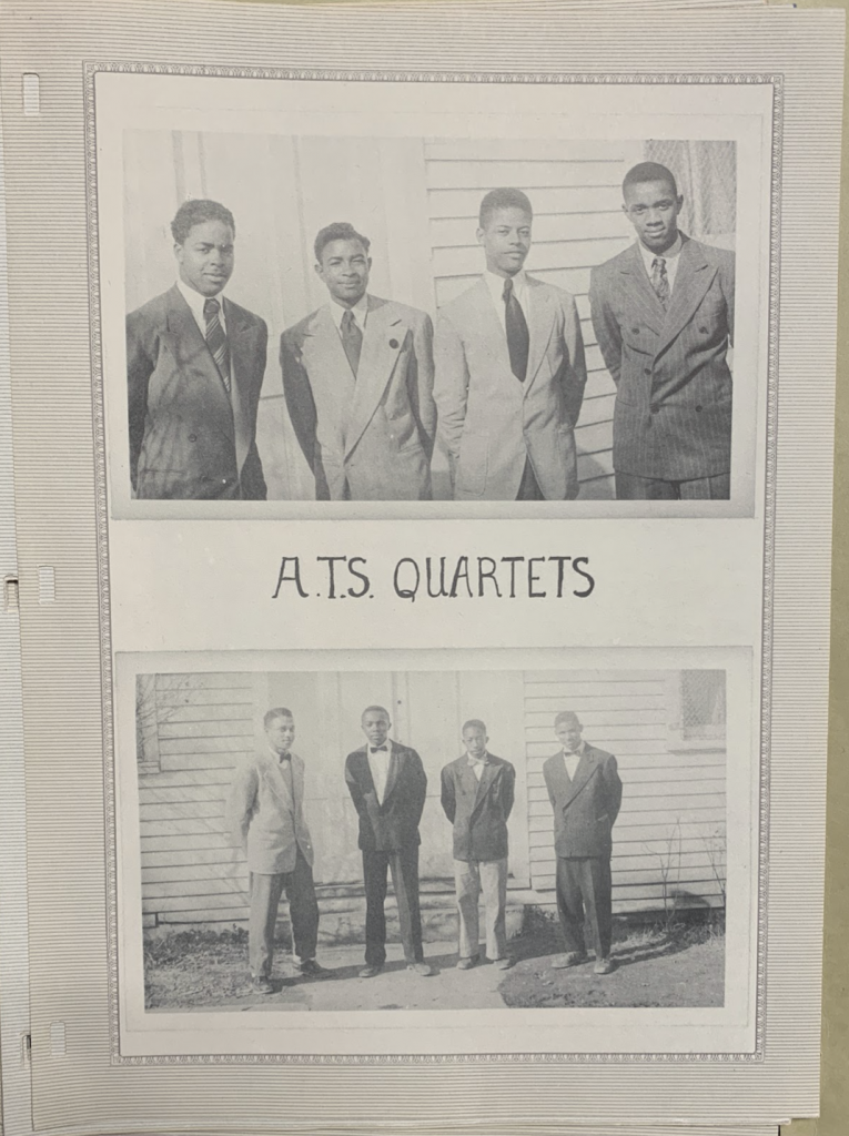 Albemarle Training School Quartets