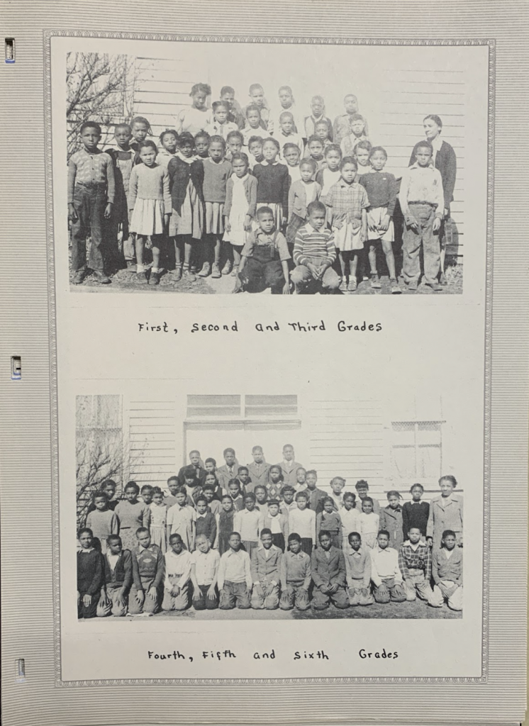 First, second, and third grade classes